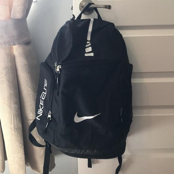 Men s Nike Black Hoops Elite Air Max Team Backpack.  M 5abd12dc739d4832baee50da afada809c8ac3